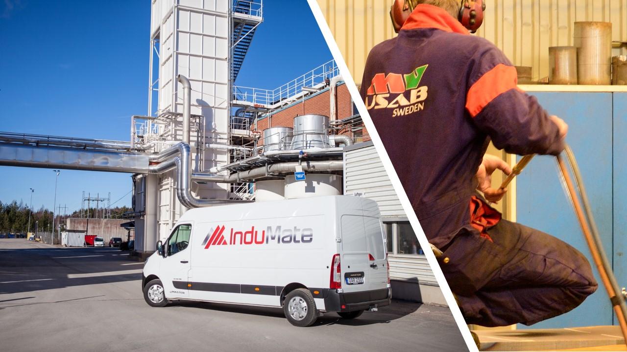Enerco förvärvar indumate och MVUSAB